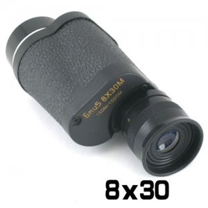 Baigish 8 x 30 High Definition Metal Monocular with Large Eye Lens